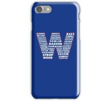 W is for Win Flag - Fun North Side Sports Roster Logo iPhone Case/Skin