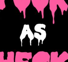 Spooky as Heck Sticker