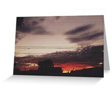 Sunsetsss Greeting Card