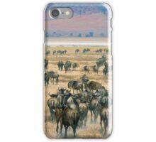Ngorongoro Wildebeest iPhone Case/Skin