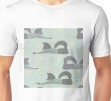 Foxes in jumpers winter design  Unisex T-Shirt