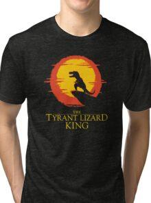 The Tyrant Lizard King  Tri-blend T-Shirt