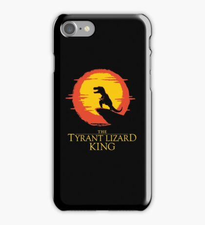 The Tyrant Lizard King  iPhone Case/Skin