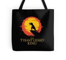 The Tyrant Lizard King  Tote Bag