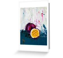 Passion of the Fruit Greeting Card