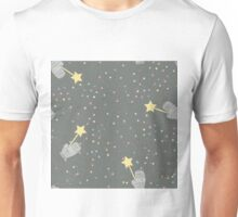 Mittens and stars winter design Unisex T-Shirt