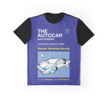 Owners' Manual - Automan Car - T-shirt Graphic T-Shirt