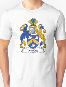 McKay Coat of Arms / McKay Family Crest Unisex T-Shirt