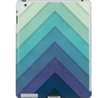 Retro Chevrons 001 iPad Case/Skin