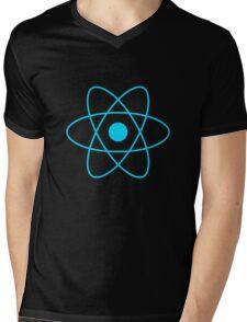React JS Logo Mens V-Neck T-Shirt