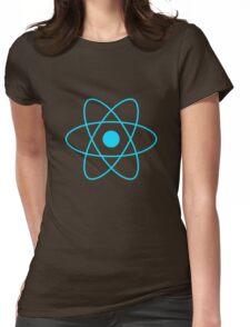 React JS Logo Womens Fitted T-Shirt