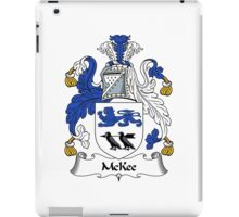 McKee Coat of Arms / McKee Family Crest iPad Case/Skin