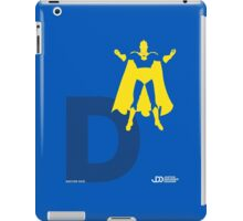 Doctor Fate - Superhero Minimalist Alphabet Clothing iPad Case/Skin