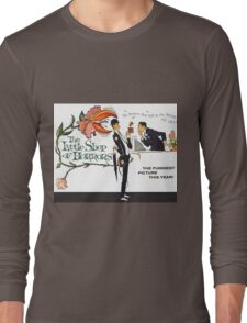 The Little Shop of Horrors vintage poster Long Sleeve T-Shirt