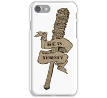 She is Thirsty Traditional Tattoo iPhone Case/Skin