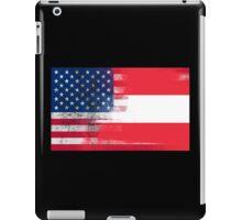 Austrian American Half Austria Half America Flag iPad Case/Skin