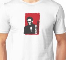 Quentin Tarantino (red edition) Unisex T-Shirt
