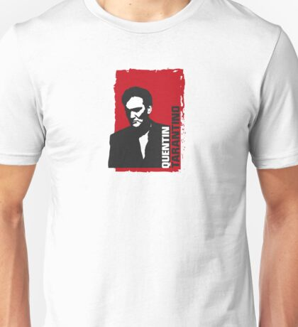Quentin Tarantino (red edition) Unisex T-Shirt