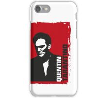 Quentin Tarantino (red edition) iPhone Case/Skin