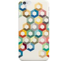 Colourful honeycomb iPhone Case/Skin
