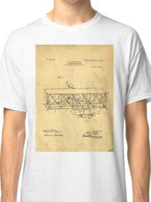 Original Patent for Wright Flying Machine 1906 Classic T-Shirt