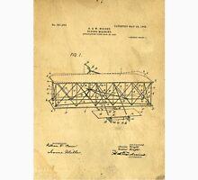 Original Patent for Wright Flying Machine 1906 Unisex T-Shirt
