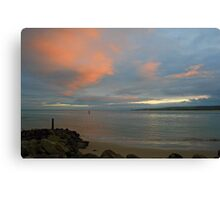 Ballard Down from Sandbanks Canvas Print