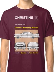 Owners' Manual - Christine - T-shirt Classic T-Shirt