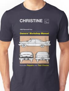 Owners' Manual - Christine - T-shirt Unisex T-Shirt