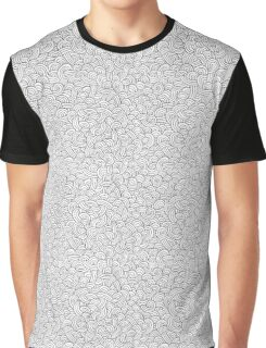 Doodle Waves Graphic T-Shirt