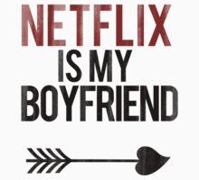 Netflix is my boyfriend Kids Clothes