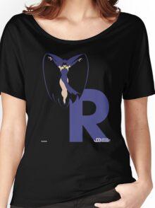 Raven - Superhero Minimalist Alphabet Clothing Women's Relaxed Fit T-Shirt