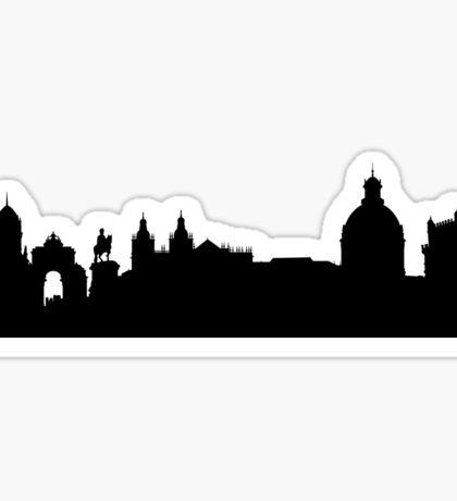 Lisbon skyline Sticker