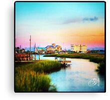 Gateway to Bald Head Island Canvas Print