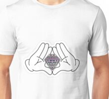 hand of diamond Unisex T-Shirt
