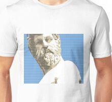 Greek Statue #1 - Blue Unisex T-Shirt