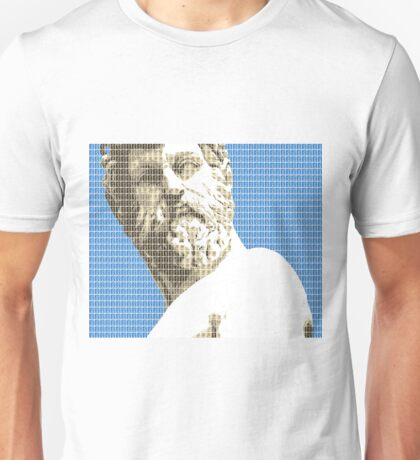 Greek Statue #1 - Blue Unisex T-Shirt