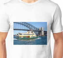 Sydney Ferry and Harbour Bridge New South Wales Australia  Unisex T-Shirt