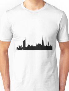 Vienna skyline Unisex T-Shirt