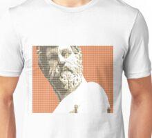 Greek statue #1 - Orange Unisex T-Shirt