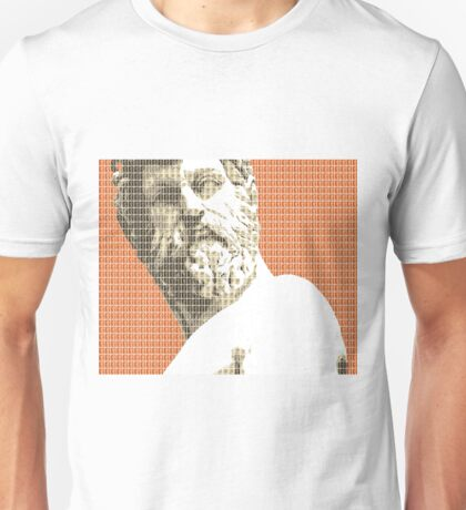 Greek statue #1 - Orange Unisex T-Shirt