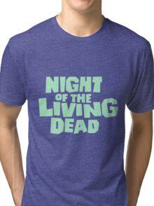 Night of the Living Dead logo Tri-blend T-Shirt
