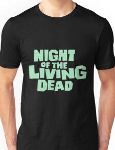 Night of the Living Dead logo Unisex T-Shirt