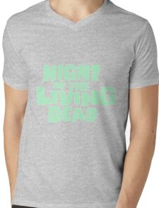 Night of the Living Dead logo Mens V-Neck T-Shirt