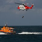 RNLI and Irish Coast Guard by Jon Lees