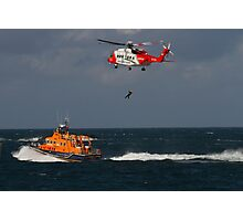 RNLI and Irish Coast Guard Photographic Print