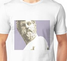 Greek Statue #1 - Violet Unisex T-Shirt