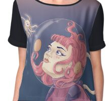 In Space Chiffon Top