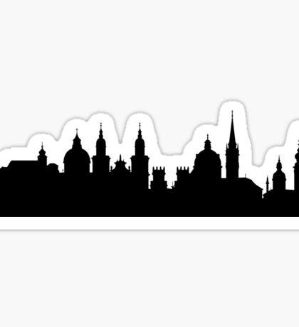 Salzburg skyline Sticker