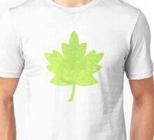 Abstract green paper Unisex T-Shirt